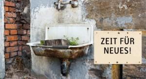 Es wird Zeit für ein neues barrierefreies Bad